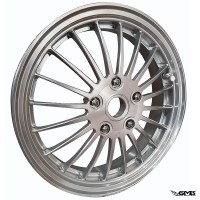 "1O1 Factory Forged Wheel Vespa 12"" Silver"