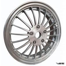"1O1 Factory Forged Wheel Vespa 12"" Silver"