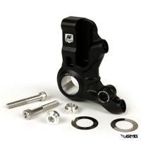 AF Parts Front Brake Caliper Bracket 4P Black Colo...