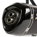 Akrapovic Slip On Exhaust Vespa GTS 300 Black