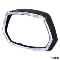 A-Plus Headlamp Rim for Vespa Sprint Matt Black