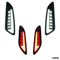 A-Plus Indicator Set for Vespa Sprint, Smoke Editi...