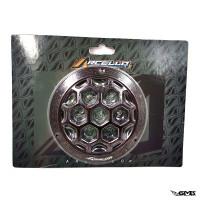 Arcello CNC Cover Fan Black