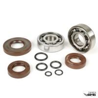 BGM Crankshaft Bearing & Oil Seal Set Vespa PTS Cone 19