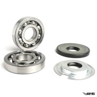 BGM Crankshaft Bearing & Oil Seal Set Vespa Su...