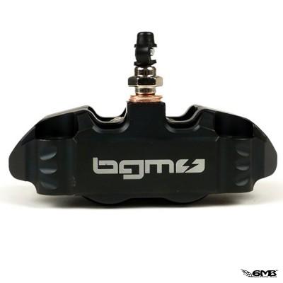 BGM Pro Black Front Brake Caliper 4P Radial Fixing for Vespa PX