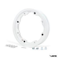 BGM Tubeless Rim Lambretta 2.10-10 inch White (Pai...