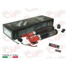 CARBONE Shock Set Vespa PX Adjustable Package by C...