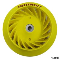 Copper Monkey Fan Wheel Yellow Vespa Sprint & ...