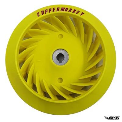 Copper Monkey Fan Wheel Yellow Vespa Sprint & Primavera 3v or I-get