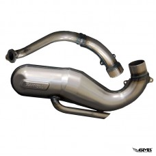 Giannelli Exhaust Set with Silencer for Vespa PTS