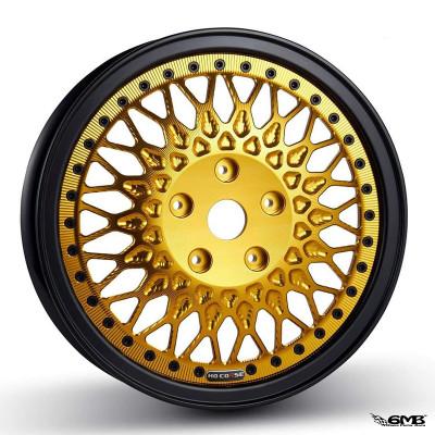 HD Corse C-Type 2 piece wheel Black Gold