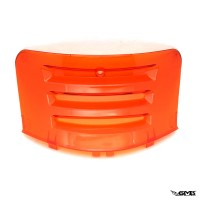 Level10 Engine Cover Transparent Vespa Sprint & Primavera Orange