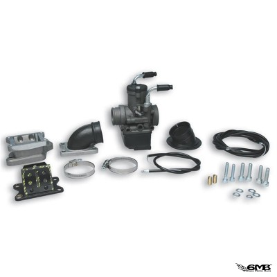 Malossi Carburettor Kit with manifold kit X360 reed valve 2012