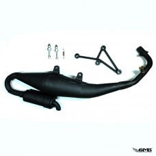 M Racing Super Exhaust Black Matte Vespa Sprint &a...