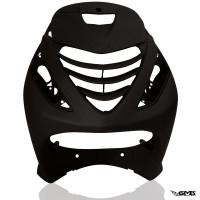 Piaggio Front Fairing Black ZIP SP2