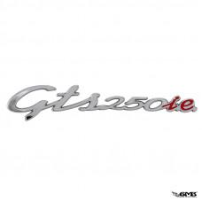 """Piaggio Badge """"GTS 250 i.e."""" for Vespa G..."""