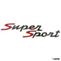 """Piaggio Badge """"Super Sport"""" for Vespa GT..."""