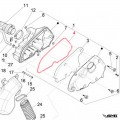 Piaggio Gasket Air Filter Box Vespa LX, Primavera/Sprint 3V