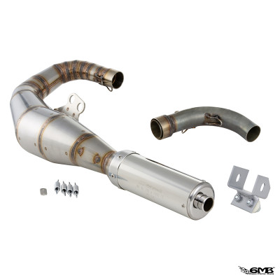 SIP Racing Exhaust Stainless Steel Silencer Left Hand for Sprint/PX