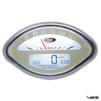 SIP Digital Speedometer Vespa VBB White