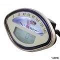 SIP Digital Speedometer Vespa VBB White