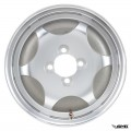 "SIP Tubeless Rim 2.15-10"" Aluminium Polished 4 Hole"