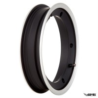 SIP Wheel rim V2.0 tubeless 2.10-10 inch aluminium matt black