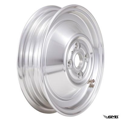 "SIP Rim Tubeless 2.15-10"" Aluminium Polished 4 Hole"