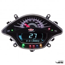 SIP Digital Speedo Vespa Sprint/Primavera Black