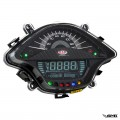 SIP Digital Speedo Vespa Sprint/Primavera Black Carbon