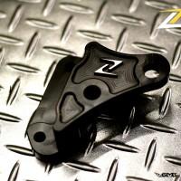 Zelioni Adaptor front Vespa Sprint (BREMBO 4 POT) Black