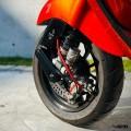 Zelioni Front Disc Air Cooler Cover for Sprint & Primavera Matt Black