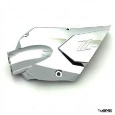 Zelioni Air Intake Cover Vespa I-get Deep Chrome (...