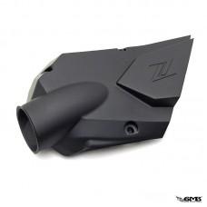 Zelioni Air Intake Cover Vespa I-get Deep Matt Bla...