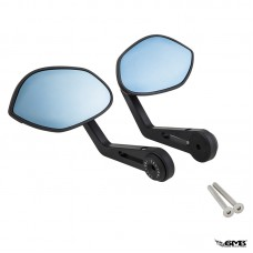 Zelioni Mirror CNC T1 (Shell Shape) Black