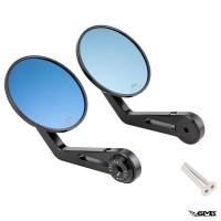 Zelioni Mirror CNC 3D (Round Shape) Black