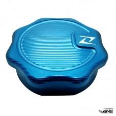 Zelioni Gasoline Cap 3D Vintage Blue