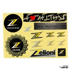 Zelioni Club Sticker Set