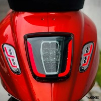 Zelioni LED Stop Lamp Vespa Sprint/Primavera Smoke colour